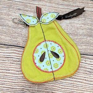 Thirty-One pear coin purse
